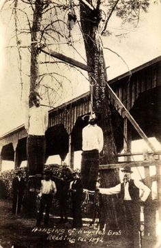 the old west pictures | Lynchings and Hangings in American History
