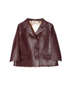 Leather jacket Women Marni