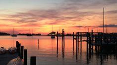Sunset at Silver Lake Harbor.  Robert Rhodes