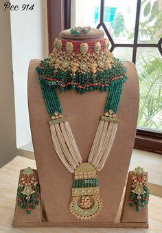 Bridal Necklace Set, Beaded Necklace, Cute Bags, Bridal Sets, Jewellery, Amazing, Fashion, Beaded Collar, Moda