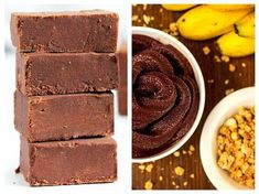 Vegetarian Desserts, Raw Vegan Recipes, Vegan Sweets, Healthy Sweets, Sweets Recipes, Baby Food Recipes, Coconut Oil Chocolate, Easy Vegan Dinner, Sunday Recipes