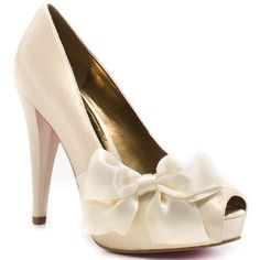 Wedding shoes...these would be cute haha as long as you can wear 3-4 inch heels