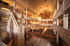 Juxtapoz Magazine - Matthias Haker: A Series of Abandoned Buildings