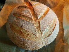 Recept na Francúzsky chlieb kváskový - Kváskovanie, rady, tipy, triky, všetko o kvásku Bread And Pastries, Ciabatta, Bakery, Food And Drink, Pizza, Yummy Food, Homemade, Meals, Cooking
