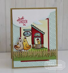 Taylored Expressions January Release Day Handmade Cards Chickens #tayloredexpressions