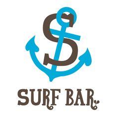 Logo Design /  Surf Bar  ● concept●ビラボン本牧店で2011年夏限定で夜間SURF BARがオープンしました。テーマカラーは海の色、ブルーと木や土の自然のぬくもりを取り入れ、ブラウンにしました。  ECOとSURFをテーマにしていたので、海をイメージし、碇をモチーフにして制作しました。強くみえる碇の先をハートにして、ECO活動に協力するBARの自然への愛を感じられる  ようにしました。