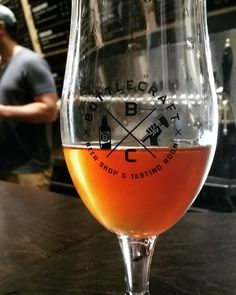 Post Star Wars beers at @bottlecraft - Drinking Nancy a #sour red ale from @allagashbrewing