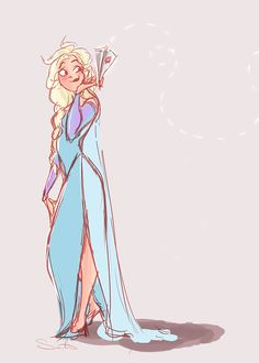 Elsa Mail by samanthadoodles on deviantART