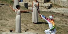 #Sochi2014 #WinterGames flame lit #Olympic #Games #OlympicFlame