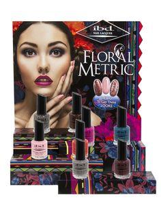 Floralmetric Nail Lacquer Collection: #ibd #ibdnails #ibdbeauty #nails #prettynails #justgels #gelpolish #ibdgelpolish #beauty #gelnails #nailart