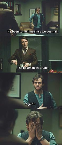Discovered (and binge-watching) Hannibal before Halloween.