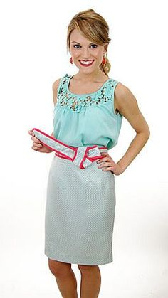 April Showers Skirt now available at www.shopbluedoor.com $56
