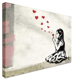 About ThisProduct You are buying an amazing Banksy graffiti art canvas print. Your guests won't be able to resist from commenting. Cheap Art Prints, Art Prints For Sale, Canvas Art Prints, Canvas Wall Art, Framed Canvas, Banksy Graffiti, Banksy Canvas, Framed Wall Art, Framed Prints