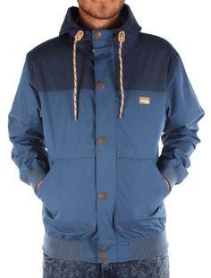 Segelprofi Jacket [steelblue] // IRIEDAILY Jackets Men // FALL/WINTER 2014: http://www.iriedaily.de/men-id/men-jackets/ #iriedaily