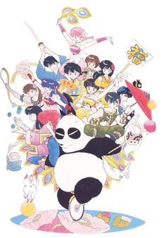 Ranma Promotional Artwork by Rumiko Takahashi