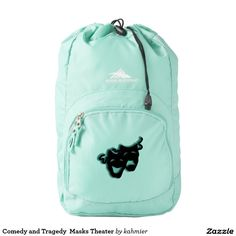 Comedy and Tragedy  Masks Theater Backpack