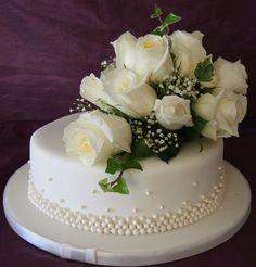 One Tier Wedding-Cakes | Single Tier Wedding Cakes | Celebration Cakes Mallorca