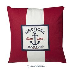 Found it at Wayfair - Urban Loft Nautical Stripe Throw Pillow Nautical Throws, Personalized Family Gifts, Laundry Solutions, Nautical Stripes, Urban Loft, Decorative Cushions, Throw Cushions, All Modern, Design