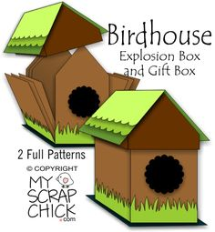 Birdhouse Explosion Box: click to enlarge