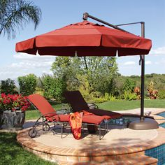 How Patio Furniture Umbrellas Can Transform Your Outdoor E