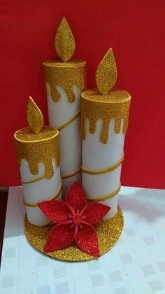 Diy Christmas Centerpieces For Kids Ideas Kids Crafts, Christmas Crafts For Kids, Christmas Art, Holiday Crafts, Diy And Crafts, Christmas Gifts, Disney Christmas Ornaments, Crochet Christmas, Kids Diy