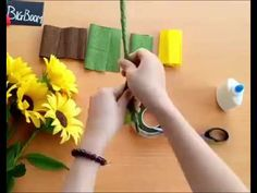 Arts And Crafts Store Raf Lakenheath time Diy Paper Flower Backdrop Tutorial despite Arts And Crafts Store Auckland all Diy Flower Style Wedding Necklace Made Of BeadsFlower Making With Paper Ribbon amid Diy Sunflower Wedding Decorations, Paper Flowers Wedding, Crepe Paper Flowers, Diy Flowers, Sunflower Birthday Parties, Tree Costume, Diy And Crafts, Crafts For Kids, Paper Sunflowers