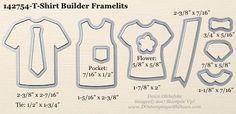 T-Shirt Builder Framelits sizes shared by Dawn Olchefske