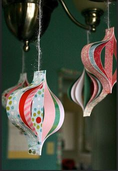 Holiday Ornaments that you can hang anywhere