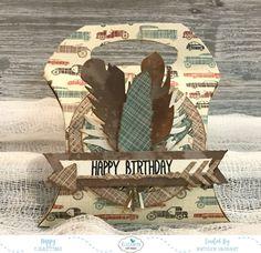 Masculine Happy Birthday Pillow Box