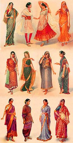 Types of Saris in India – Symbolizes Simplicity of Indian Woman « Wedding Planner India Blog