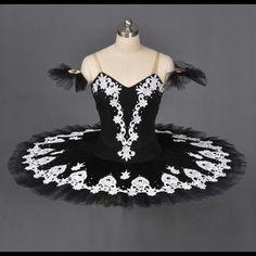 Professional Classical Black Ballet Tutu Black Swan Competition Performance | eBay