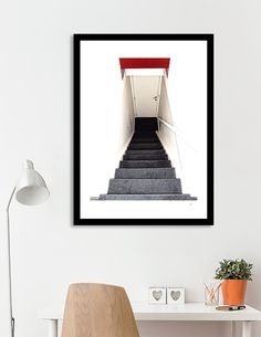 Discover «HOTEL ROOM ENTRANCE», Limited Edition Fine Art Print by Jos Schaareman - From $29 - Curioos