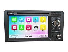 Autoradio DVD GPS Audi A3/S3 avec Bluetooth et GPS