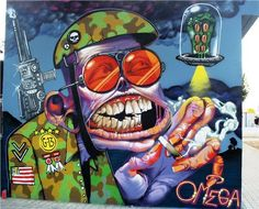 Global Street Art • In the End: An Interview with Spain's Omega
