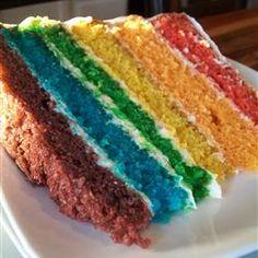 St. Patty's Day Rainbow Cake I made last year.
