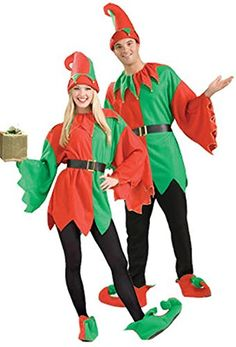 Introducing Adult Santas Helper Elf Unisex Costume Christmas  Up to chest size 42. Get Your Ladies Products Here and follow us for more updates!