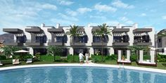 complex 2 Costa, Construction, Contemporary, Mansions, House Styles, Villas, Outdoor Decor, Projects, Sun