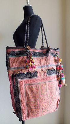 Ethnic bagsBoho tote Bags and purses Bohemian di shopthailand