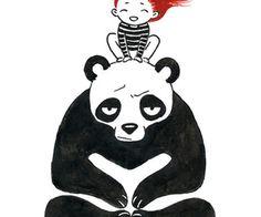 Babysitting Art Print by Freeminds | Society6