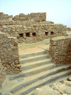 *ISRAEL~MASADA: THE FORTRESS USED BY THE JEWS IN THE LAST REVOLT