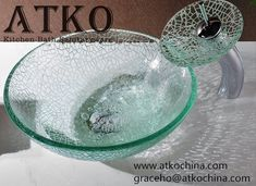 glass basin Shower Basin, Shower Mirror, Marble Mosaic, Mosaic Tiles, Glass Basin, Kitchen Sink, Bathroom Accessories, Faucet, Stone