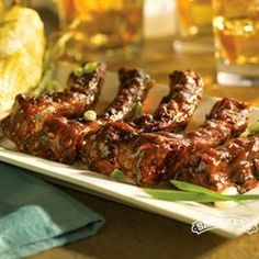 Apricot Sticky Ribs from Smucker's® #FootballSnacks