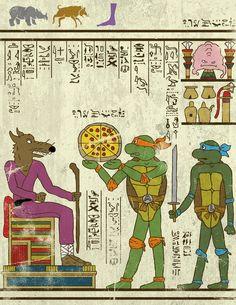 Si les scènes cultes de la popculture étaient des fresques égyptiennes