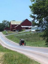 Holmes County, Ohio - Home to the world's largest population of Amish residents.  This is another place we went every year when I was young.  It wasn't so much a tourist destination then.  I think to my dad it reminded him of his own childhood.