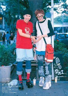 Tokyo Street Fashion, Tokyo Street Style, Japanese Street Fashion, Japan Fashion, Grunge Style, Soft Grunge, Quirky Fashion, 90s Fashion, Vintage Fashion