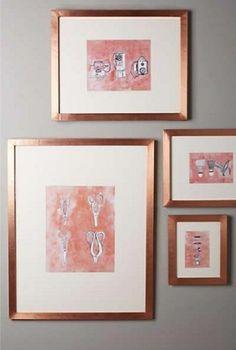 10 Formas de enchular tu habitación con pintura Rose Gold