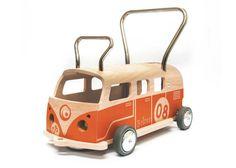 LauflernwagenRutschwagen Balòss 8 Orange von MaamuuToys auf Etsy