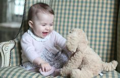 Her Royal Cuteness: William and Kate release new photos of Princess Charlotte at six months old, thank you to the British public and media for allowing children to grow up away from spotlight