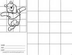 Grid Art Worksheets - Bing Images