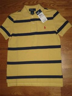 New with tags boys 6 years Polo Ralph Lauren shirt